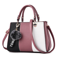 купить High Quality Women Handbag PU Leather Ladies Tote Crossbody Shoulder Bag Purse Satchel Top Handle Bags дешево