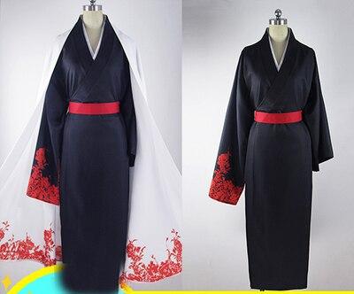 New Anime Servamp men Cosplay CostumesCosplay Clothing Japanese Kimono Trench and Kimono servamp anime vampire mahiru kuro snow lily jeje hyde food version japanese rubber keychain