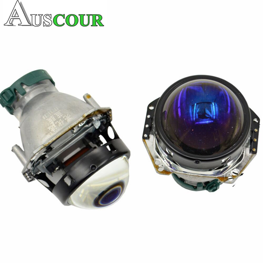 3.0inch HELLA 5 bixenon hid car projector lens with blue coating xenon kit bulb car headlight metal holder D1 D2S D3S D4S Modify car light accessories amp d2s d2c d2r hid xenon cable adaptor socket for d2 d4 d4s d4r xenon hid headlight relay wiring harness