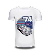 Rosk Sir New Summer Style Cartoon T Shirt Men Cotton Short Sleeve 3D Car Printed T