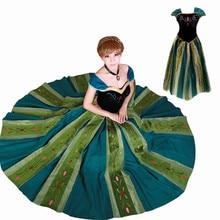 c9ddb879b Carnaval Elsa y Anna de cumpleaños de la Reina de la nieve traje de fiesta  vestido