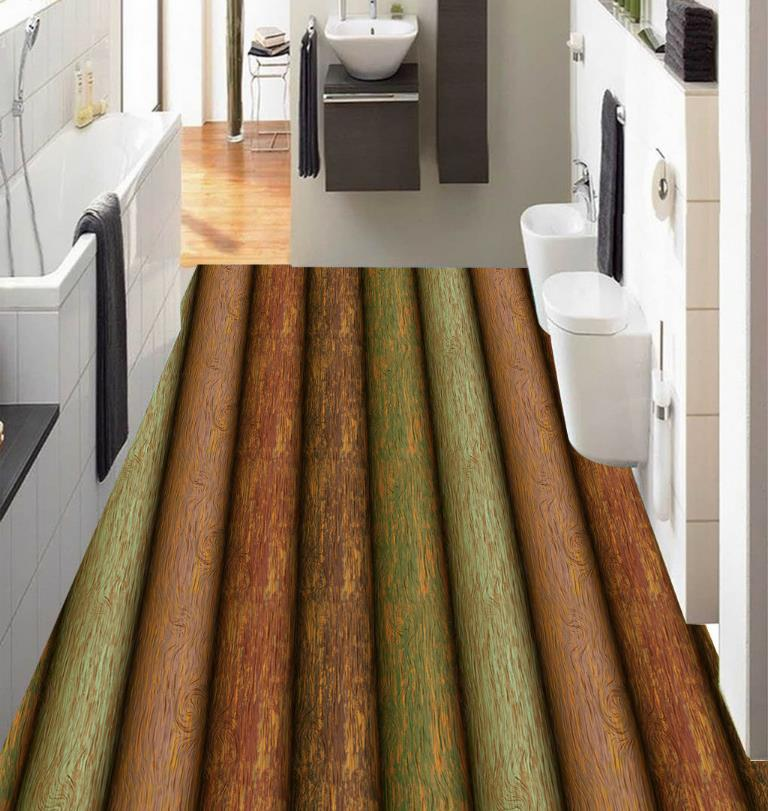 Customize 3D Flooring Stakes wood Wallpaper 3D Stereoscopic Abstract Pattern pvc Self adhesive Wallpaper 3D Floor Murals 3d stereoscopic flooring wallpaper marble pattern 3d floor murals self adhesive waterproof pvc wallpaper 3d floor tiles