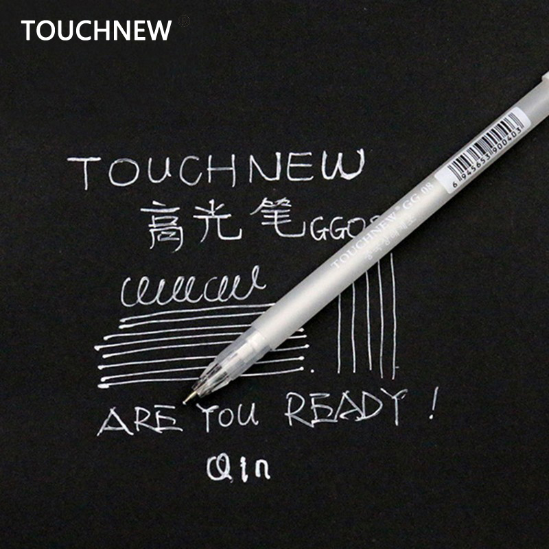 Touchnew 20PCS/Set 0.8MM Art Marker White Ink Color Photo Album markers Gel Pen Unisex Wedding Pen Gift for Kids Art supplies цена 2017