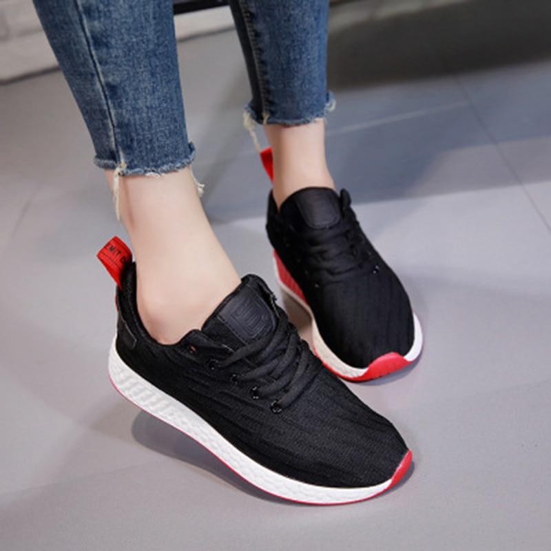 Zapatos Rushed Frauen Turnschuhe 2018 Sommermode Atmungsaktive Damen - Damenschuhe - Foto 5