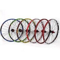 RC3 MTB rower górski 26 cal ultra lekkie koła 5 perlin łożysko uszczelnione tarcza koła zestaw kól 27.5 cal Rim darmo