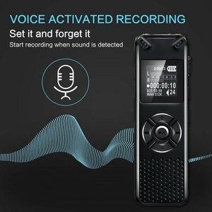 Image 3 - V91 Vandlion Professionelle Stimme Aktiviert Digital Audio Voice Recorder 16GB 32GB Aufnahme Diktiergerät WAV MP3 Player