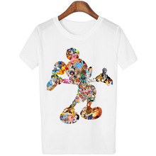 bf1206bc807 Mickey t-shirt women Donald Duck mickey kawaii cartoon couple clothes plus  size tumblr t