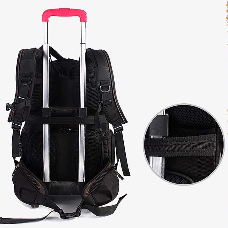 C3050 sac photo hommes femmes sac à dos appareil photo épaules numériques grande capacité sac à dos pour Canon Nikon SLR sac photo