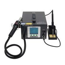 GORDAK 952 в 952 Антистатическая Горячая воздушная настольная паяльная станция комбинированная VFD цветной дисплей цифровой дисплей BGA рабочая станция Ремонт