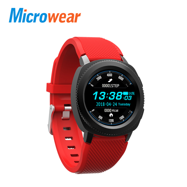 Microwear L2 Smart Watch smartwatch Bluetooth Call Swimming Waterproof BT Camera Sleep Monitor Sports Watch Heart Rate Sedentary
