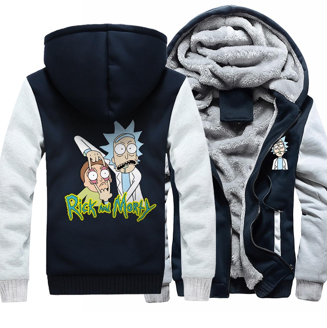 New Rick and Morty Coat Jacket