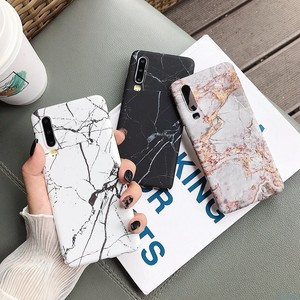 Image 3 - Marble Phone Back Case For Huawei P20 P30 Mate 20 Pro Lite Nova 4 P Smart 2019 Honor 10 lite Pattern Hard PC Full on Cover Coque