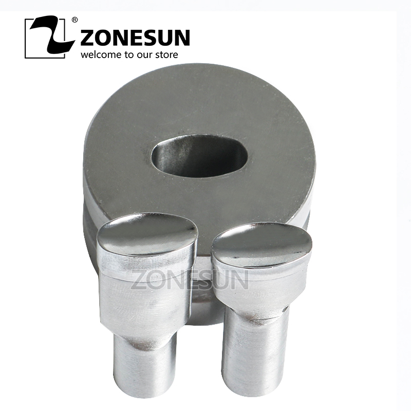 ZONESUN Star shape Tablet Press 3D Punch Mold Candy Milk Punching Die Custom Logo For punch die TDP 5 Machine Free Shipping