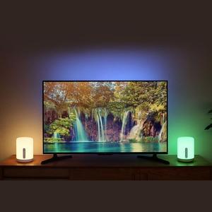 Image 5 - Xiaomi Bedside Lamp 2 Smart Table LED Light Mi home APP Wireless Control MIJIA Bedroom Desk Night Light for Apple HomeKit Siri