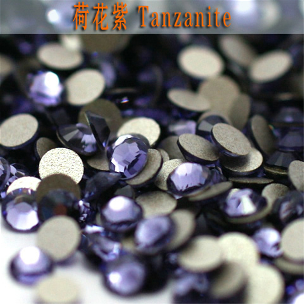 Many colors have stock ss8 tanzanite color non hotfix rhinestones many colors have stock ss8 tanzanite color non hotfix rhinestones flatback glass beads 1440 pieces one bag in rhinestones from home garden on nvjuhfo Choice Image