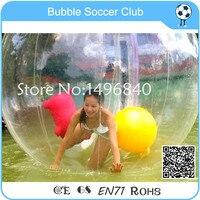 Бесплатная доставка 2.5 м Диаметр гигантский надувной шарик воды, гигантский надувной пляжный мяч, Зорб шары для сцены