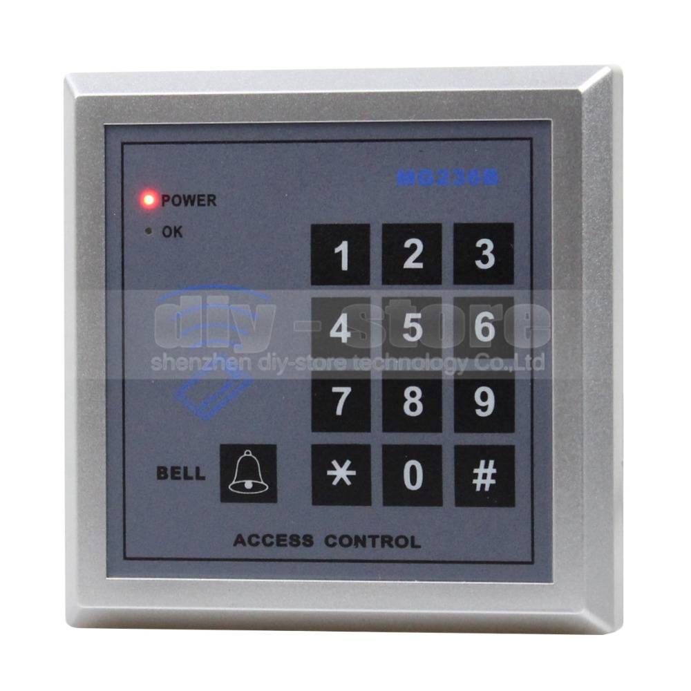 DIYSECUR Keypad RFID IC Cards Proximity Reader Access Controller Kit + 10 Free IC Card For House / Office / Home Improvement usb pos numeric keypad card reader white