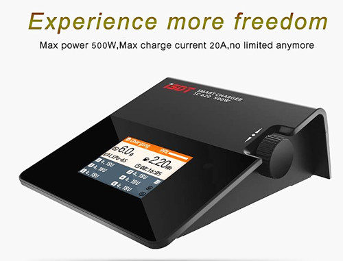 iSDT SC-620 500W 20A MINI Smart LCD Battery Balance Charger isdt sc 620 500w 20a mini charging batteries smart lcd battery balance charger for rc quadcopter multicopter helicopter
