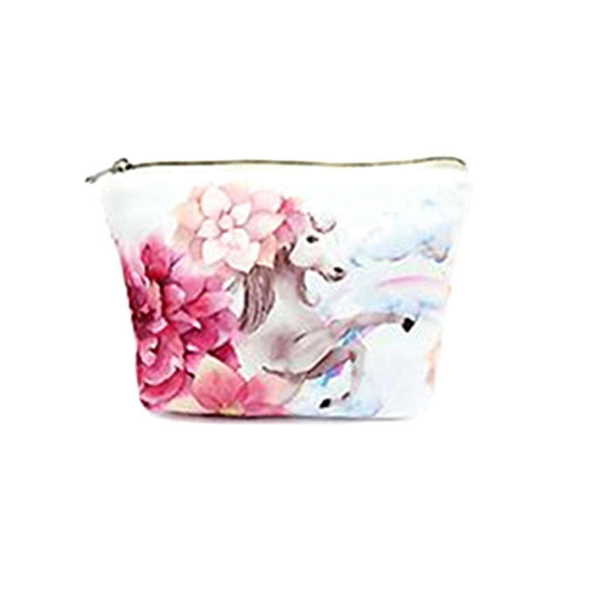 M160  Lovely Coin Purse Cute Animal Patterns Flower Pony Beautiful Beer Zero Wallet Card Bag Girl Women Student Gift Wholesale m215 cute cartoon pets akita dog siberian husky personality plush coin purse wallet girl women student gift wholesale