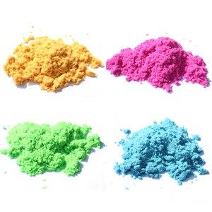 Image 2 - דינמי חול צעצוע חימר חינוכיים צבעוני רך קסם חול חלל מקורה זירה לשחק חול ילדים צעצועים לילדים