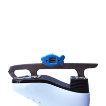 White Sandstone Blades Grindstone Hanging Daily Use Maintenance Ice Skate Sharpener Hockey With Chains Adjustable Double Side