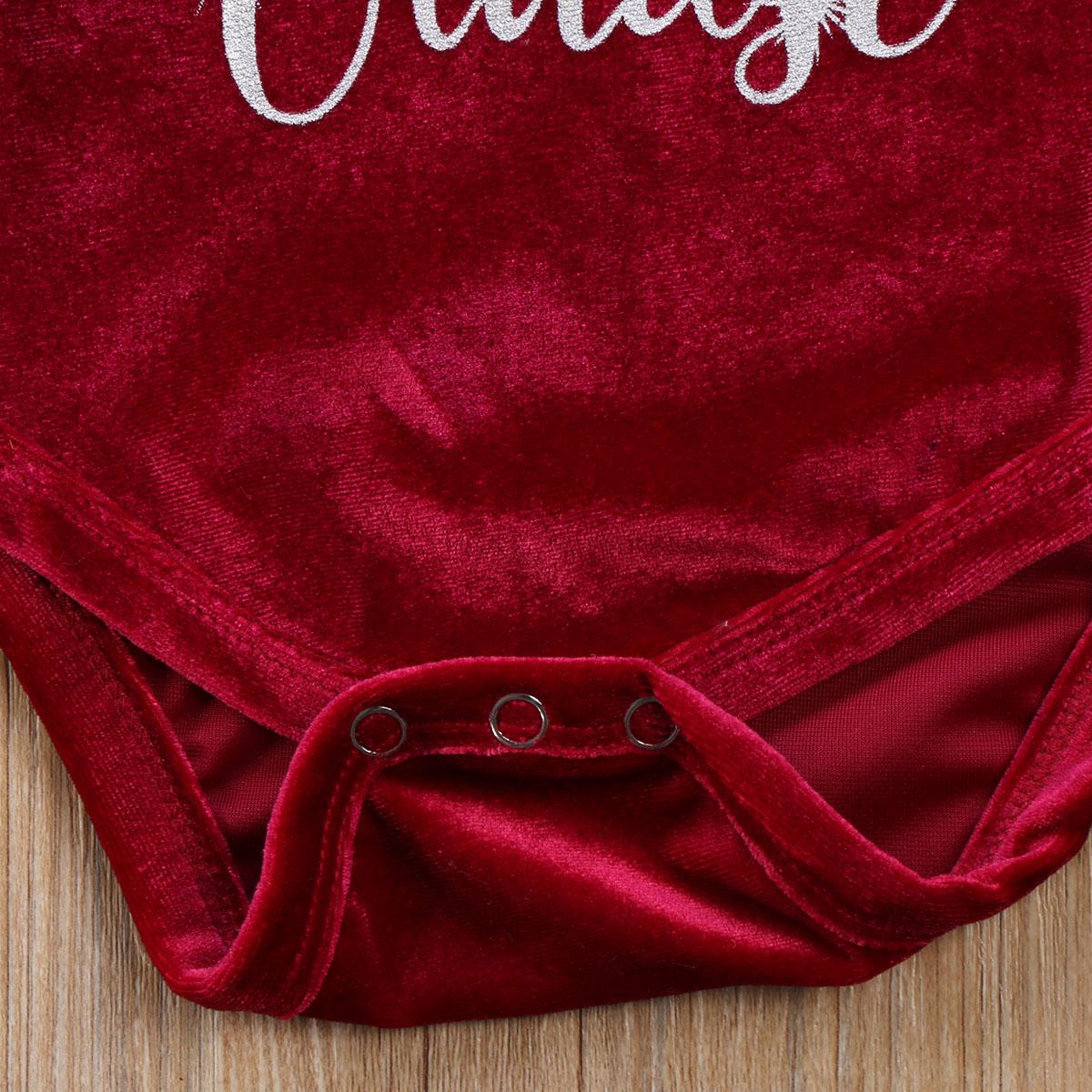 HTB1J3jzc4rI8KJjy0Fpq6z5hVXar Pudcoco 2017 New Pleuche Christmas Baby Girls Romper long sleeves infant newborn baby jumpsuit princess plush clothes xmas gift