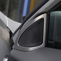 2pc for benz GLA / CLA / B200 B220 B260 abs / stainless steel high pitched speaker frame strip Decorative stickers