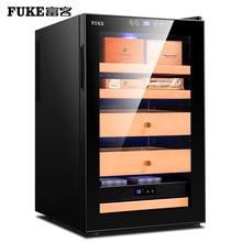 лучшая цена Electronic cigar humidor cabinet freezer temperature cigar cabinet cigar cooler humidor FK-68C2A