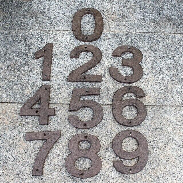 30 Cast Iron Letter Alphabet A-Z, Number 0-9 Antique Metal House Door  Numbers - 30 Cast Iron Letter Alphabet A Z, Number 0 9 Antique Metal House