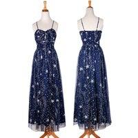 Summer Ladies Fashion Luxury Sequin Star Sexy Sling Dresses