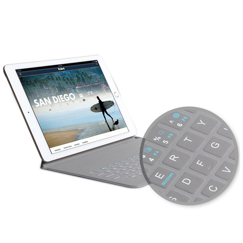 New Ultra Slim Cover for ipad 2018 case wireless Bluetooth keyboard PU leather Smart Flip Stand for ipad case gadget for tablet 2017 new leather case cover beautiful gift new 1pc for ipad pro 12 9inch ultra aluminum bluetooth keyboard with pu kxl0421