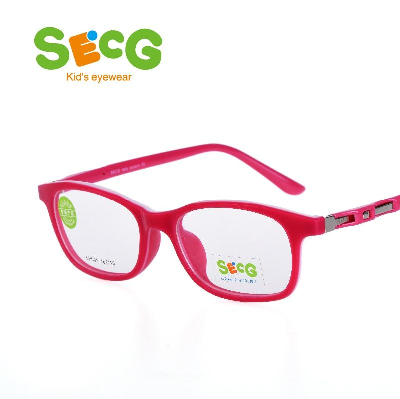 c269e41d6c SECG Mental frame children frame tough flexible eyeglass Oculos gafas boys  girls Optic Hyperopia Myopia strap