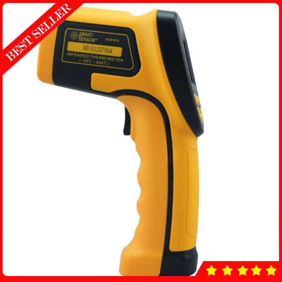 AS842A Domestic thermometers with Non-contact Infrared Thermometer -50~600 Degree mastech ms6520c non contact infrared thermometers surface body