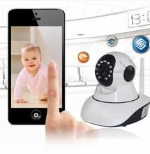 Nouvelle Famille Système de Sécurité HD 720 P Sans Fil Contrôle Vidéo Bébé Moniteur WiFi Talk Back interphone Caméra Avec IR Nuit Vision
