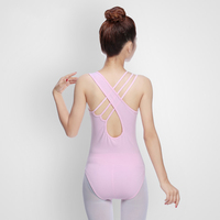 Ballet Leotards For Women Ballerina Professional Gymnastics Sleeveless Womens Leotard Dance Wear Adult Clothing DNV10274