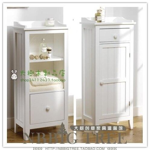 goedkope europese en amerikaanse kleine meubels badkamer vloer kast ...