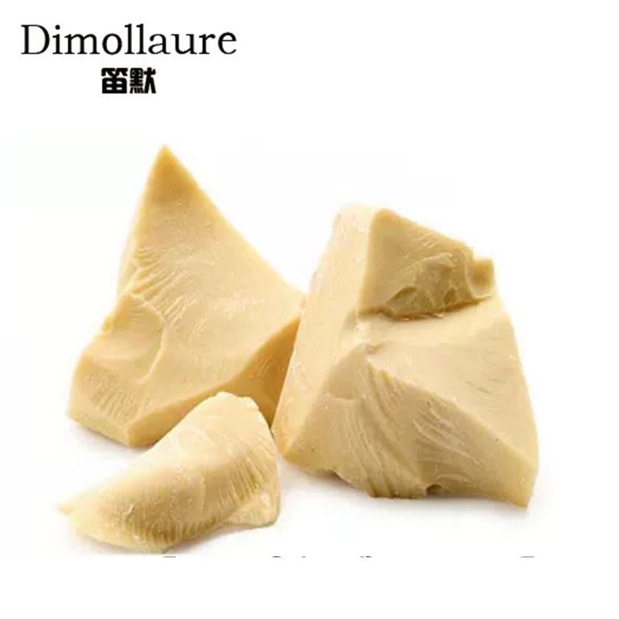 Dimollaure 50g Pure Cocoa Butter Unrefined Cocoa Butter Raw Base Oil Food Grade Natural ORGANIC Plant Essential Oil Skin Care