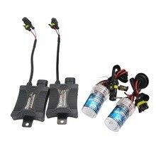 1 Set 35W H8 H9 H11 Car Motorcycle Headlight Xenon Replacement Bulbs Lamps Set Kits 3000K