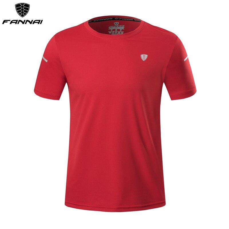 2019 Sport Shirt Men Summer Quick Dry Running T-shirt Workout Rashgard Male Gym Fitness Sportswear Soccer Jersey Plus Size 4XL
