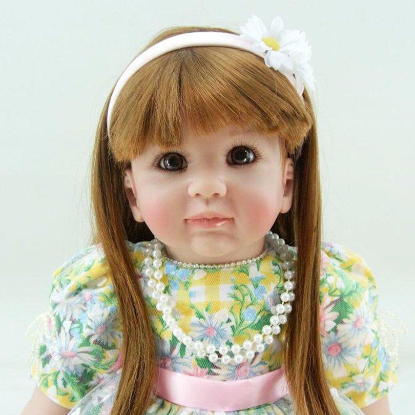 60cm Cute Lovely Fashion Soft Dolls High-End Handmade Educational Babies Realistic Gifts Doll Bedtime Toy For Children