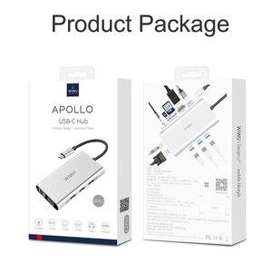 Image 5 - WIWU 10 in 1 USB Hub voor MacBook USB C naar HDMI/VGA/RJ45 Thunderbolt 3 Adapter voor dell/Samsung/Huawei P20 Pro Type c USB 3.0 Hub