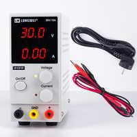 K3010D Mini Einstellbare Dc-netzteil 30V 10A 110/220V LED Digital Schalt Spannung Regler Stabilisatoren Laptop reparatur Rework