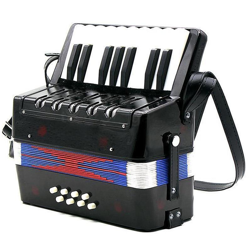 17-Key 8 basse Mini accordéon jouet Musical pour les enfants