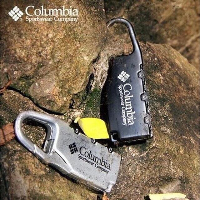 Frete grátis Liga Combinação Código Number Lock Cadeado fechamento Da Bagagem para o Saco Do Zipper Mochila Bolsa Gaveta Do Armário