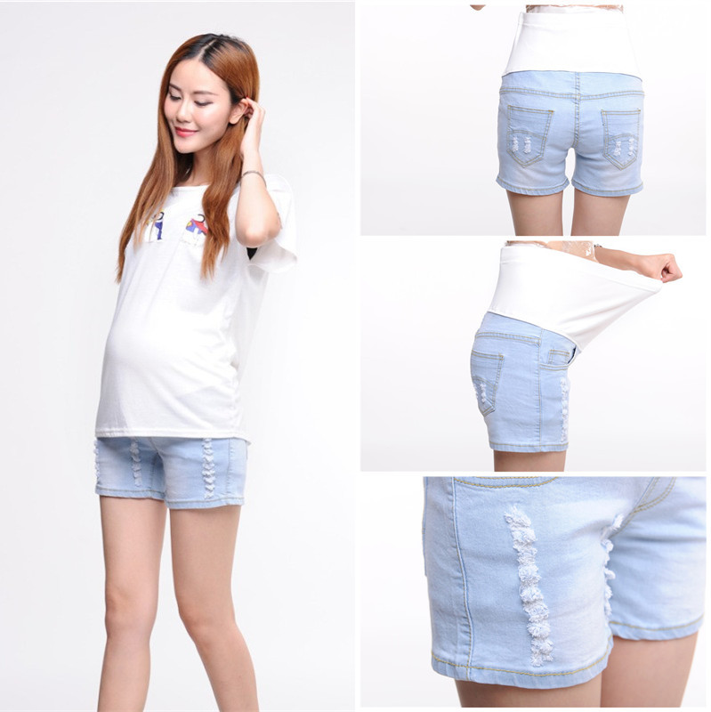 Aliexpress.com : Buy 817# Summer High Waist Maternity Belly Shorts ...