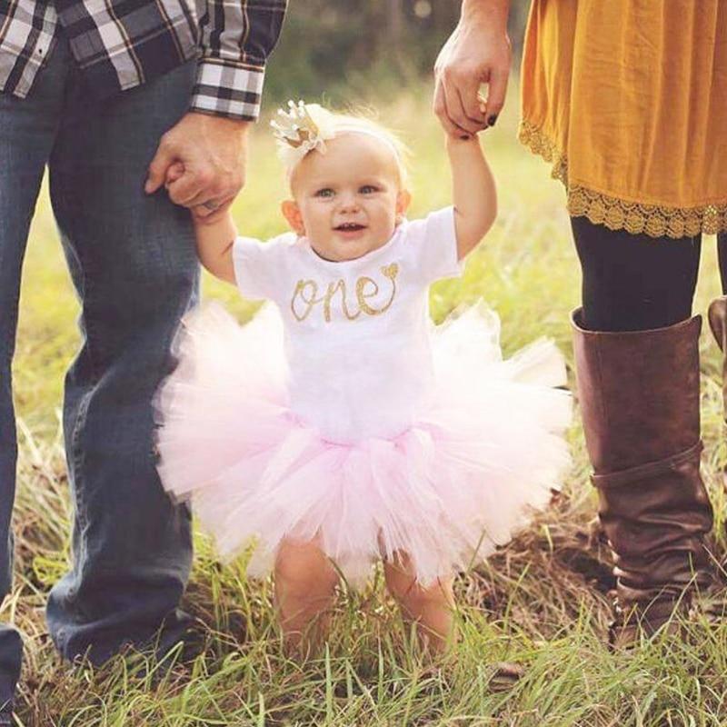 1 rok urodziny dziewczyna sukienka dla dzieci impreza jednorożec Tutu dziewczyny sukienka noworodka dziewczynki 1 stroje urodzinowe małe dziewczynki ubrania 12M