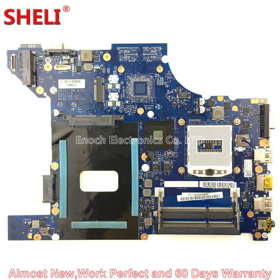 SHELI 04X4790 11S0C59843 Laptop Motherboard For Lenovo E440 AILE1 NM-A151 HD 4000 System Board Main Board Work Perfect