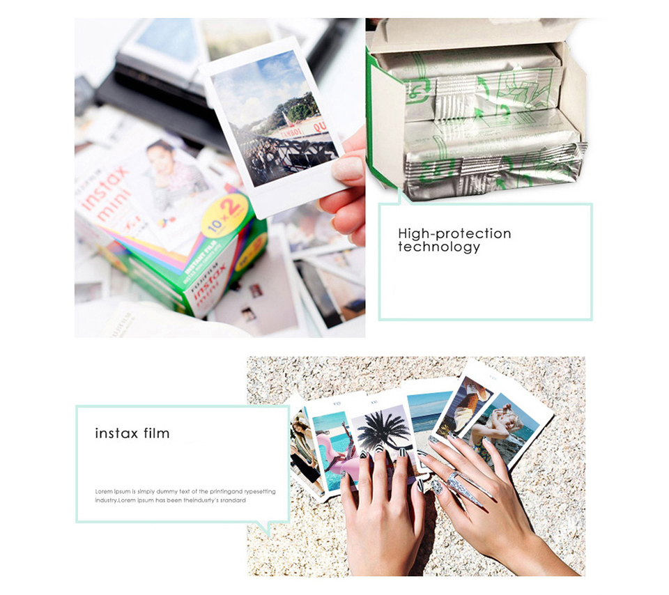 MINI8_12  Fujifilm Fuji Instax Mini eight Prompt Movie Photograph Digicam + Mini eight Bag + Lens + 20 Sheets Movie + 36 Pockets Photograph Case Free Transport HTB1J3nDSXXXXXaraFXXq6xXFXXXP