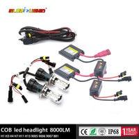 12V 55W bi xenon H4 HID Kit Digital Slim Ballast Bixenon Lamp Kit HB2 9003 Far and Near Light 4300K 6000K 8000K xenon light