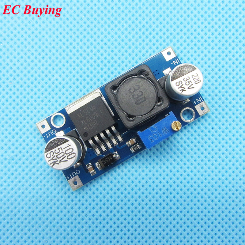 2 pcs XL6009 DC-DC Booster Power Supply Module Adjustable Step Up Converter